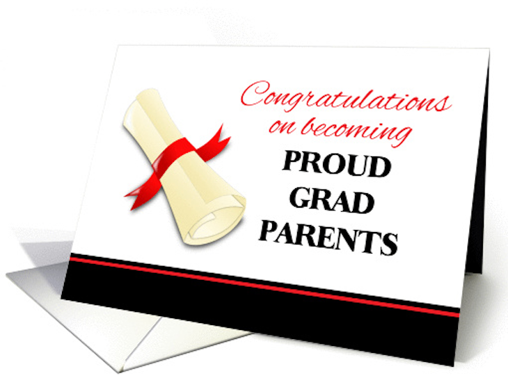 Letter to Parents of Graduates